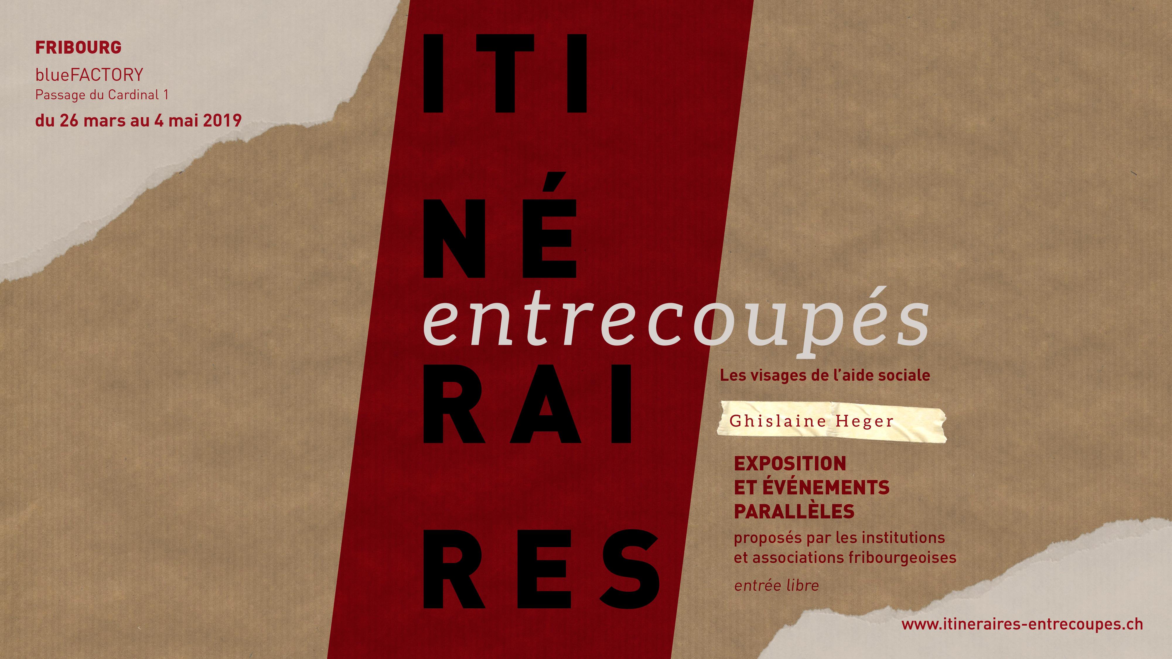 """Photo exhibitions """"Itinéraires entrecoupés"""""""